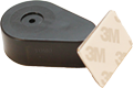 Plastic Teardrop Pullbox Anti Theft Tether with Metal Plate Endfitting