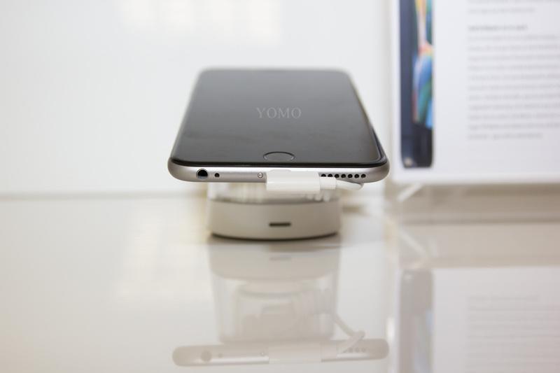 蘋果三星聯想華為手機防盜器報警器 智能手機防盜器防盜展示架 6