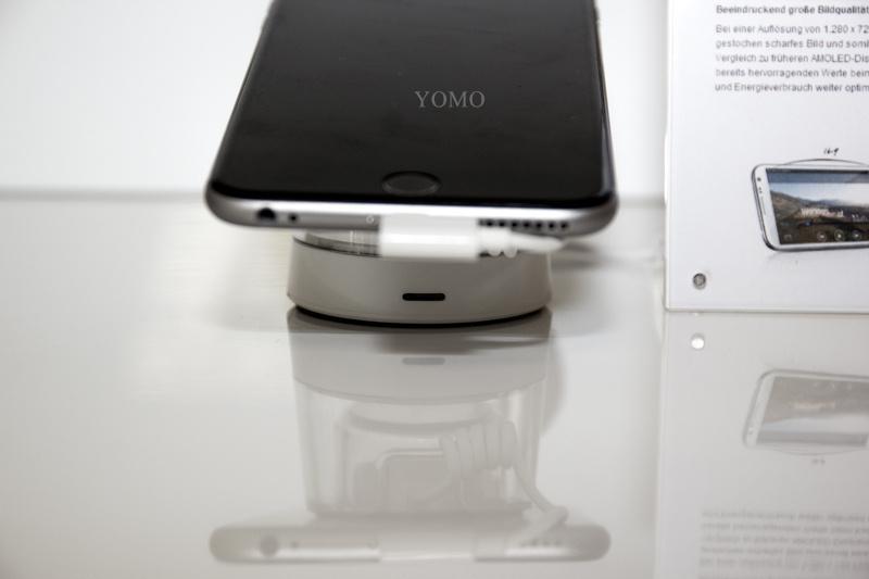 蘋果三星聯想華為手機防盜器報警器 智能手機防盜器防盜展示架 7