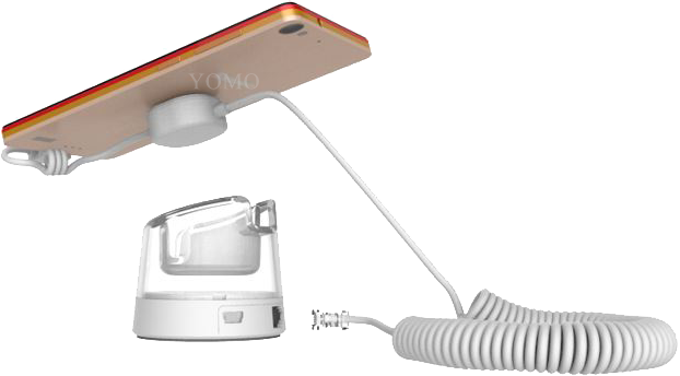 蘋果三星聯想華為手機防盜器報警器 智能手機防盜器防盜展示架 1