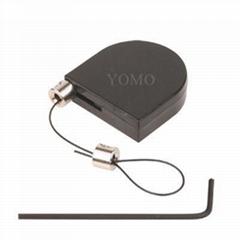 眼鏡防盜鋼絲拉線盒 自動伸縮拉線鎖 易拉得