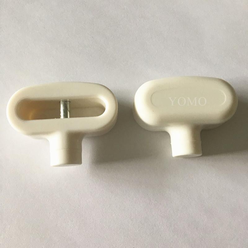 雙孔挂鉤鎖扣 U型雙排金屬挂鉤鎖 強磁力挂鉤鎖 5