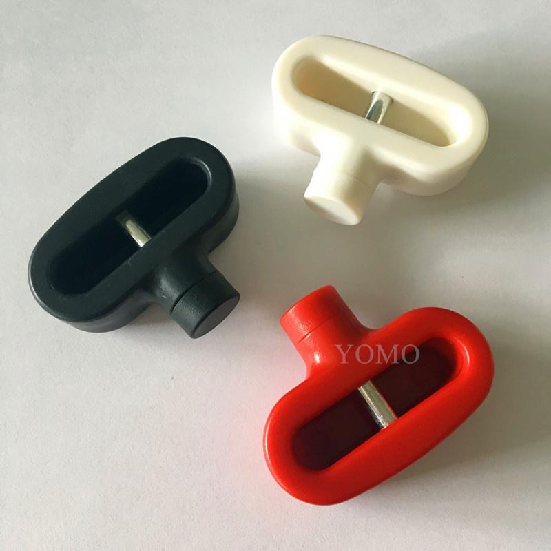 双孔挂钩锁扣 U型双排金属挂钩锁 强磁力挂钩锁 7