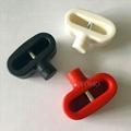 雙孔挂鉤鎖扣 U型雙排金屬挂鉤鎖 強磁力挂鉤鎖 7