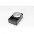 ABS Anti-Theft pullbox recoiler with alarm black