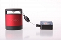 ABS Anti-Theft pullbox recoiler with alarm,Alarmed Retractor,Alarmed Snapper