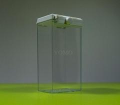 超市多功能防盗盒 超市声磁防盗透明盒