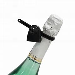 服裝超市賣場EAS電子防盜標籤塑料帶三角酒扣