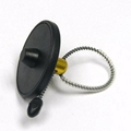 EAS Round Metal Anti-theft Cable Bottle Tag