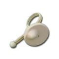EAS Round Platic Anti-theft Cable Bottle Tag 4