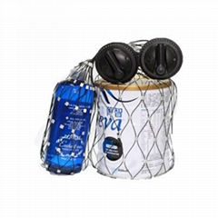2 Alarm or 3 Alarm Security Spider Wrap,EAS Hard Spider Tag For Box Wrap