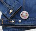 双色墨水钉标签 超市防盗标签 衣服防盗标签 1