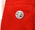 双色墨水钉标签 超市防盗标签 衣服防盗标签 2