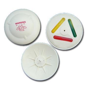 三色墨水标签  防盗标签 防盗设备配件 服装专用防盗扣墨水针 3