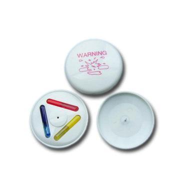 三色墨水标签  防盗标签 防盗设备配件 服装专用防盗扣墨水针 4