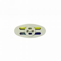 墨水针标签 EAS标签配件服装防盗磁扣专用双色墨水钉