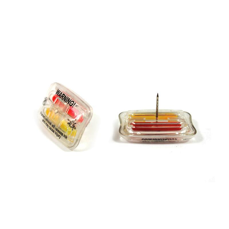 方形墨水标签  服装专用防盗扣墨水针 1