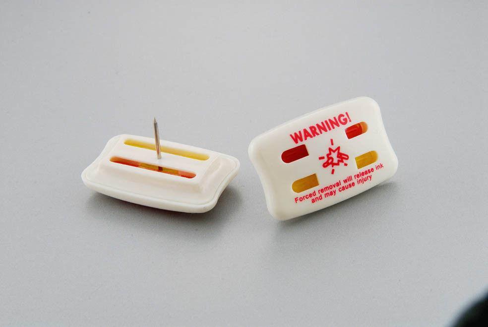 方形墨水标签  服装专用防盗扣墨水针 2