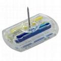 方形墨水標籤 防盜標籤 防盜設備配件 服裝專用防盜扣墨水針 4