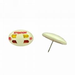 双色墨水标签 墨水针标签 EAS标签配件服装防盗磁扣