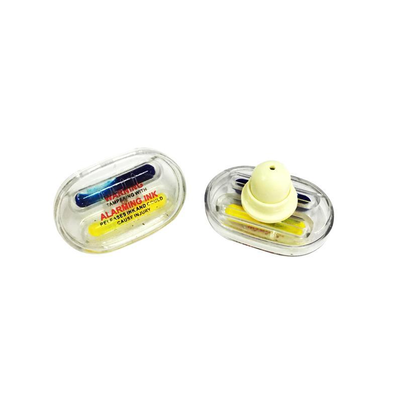 橢圓形墨水標籤 防盜標籤 防盜設備配件 服裝專用防盜扣墨水針 1