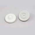 Mini round security tag Anti Thief Tag RF hard tag