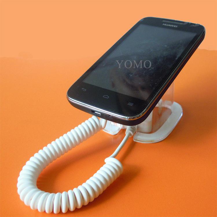 手機展示架 馬蹄展示桌面支架 防盜支架 透明報警防盜架 7