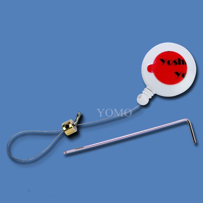 供应各种型号首饰/精品展示用防盗绳 自动伸缩拉线盒 易拉扣 1
