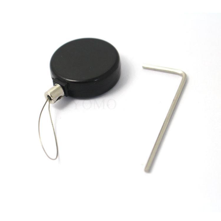 手机展示防盗链 机模陈列防盗链 超强钢丝绳自动伸缩  1