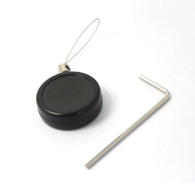 手机展示防盗链 机模陈列防盗链 超强钢丝绳自动伸缩  4