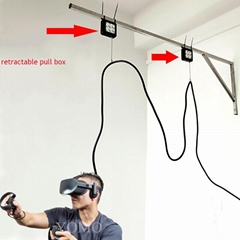 Retractable Long wire anti-theft cable pull box VR head special line Receptor
