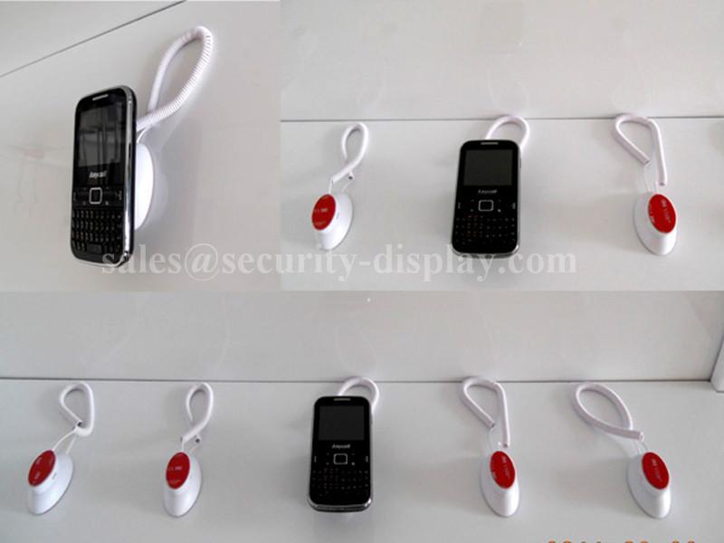 彈簧式臥式磁力手機機模防盜展示器 15
