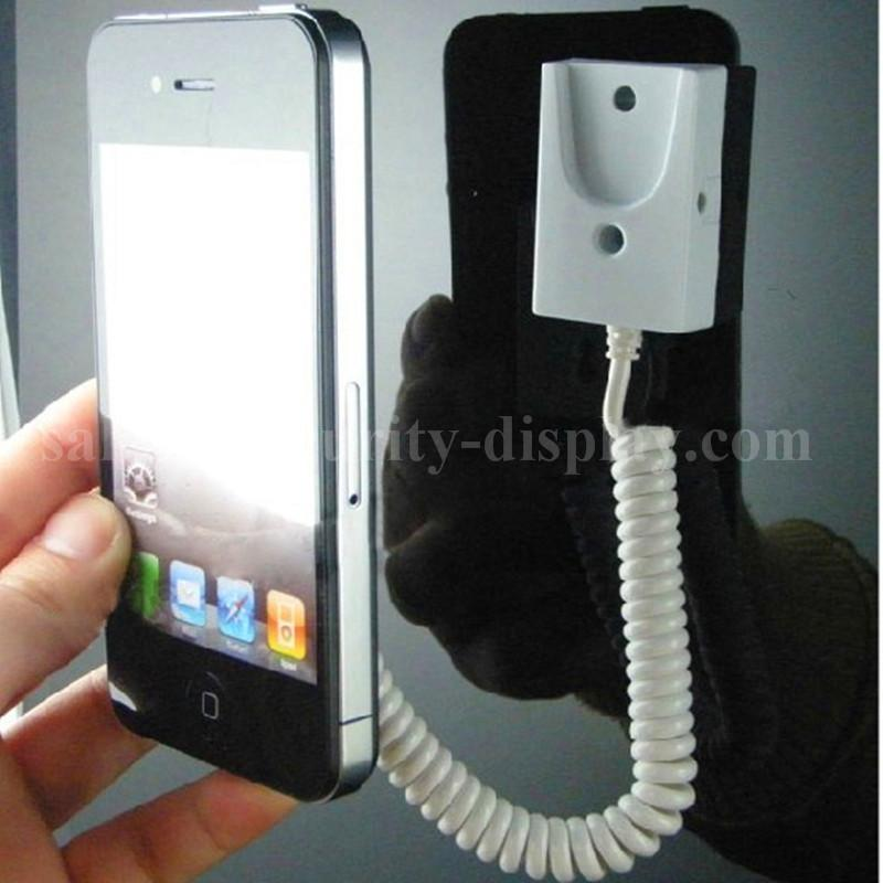 手機展示自動伸縮防盜鏈 拉線盒 磁力座模型防盜器 牆挂拉繩 1