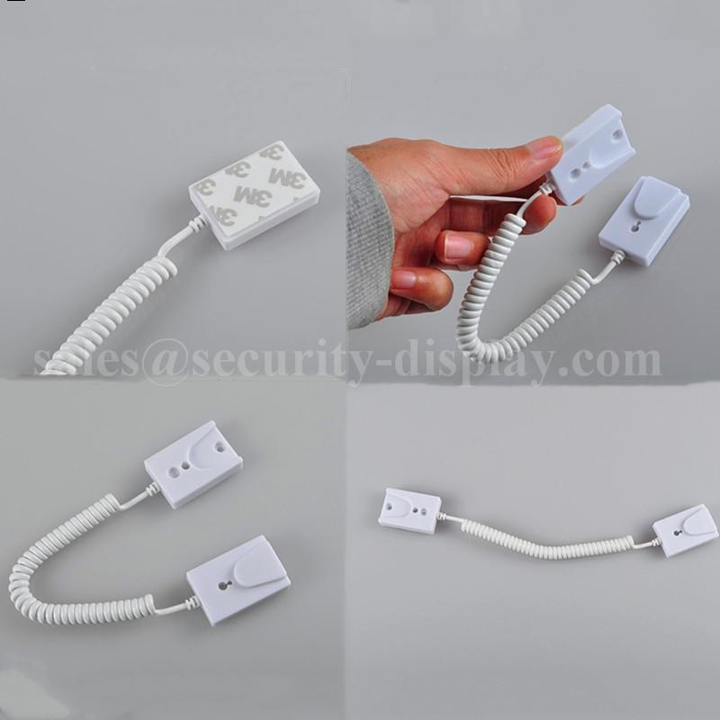 手機展示自動伸縮防盜鏈 拉線盒 磁力座模型防盜器 牆挂拉繩 6