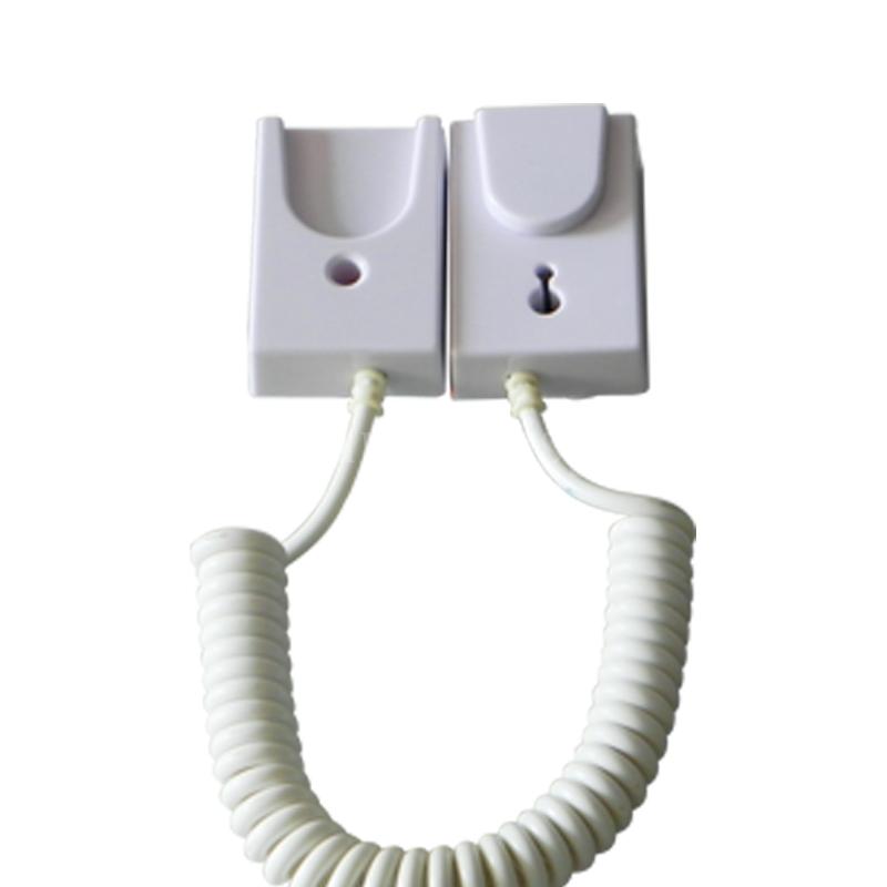 手機展示自動伸縮防盜鏈 拉線盒 磁力座模型防盜器 牆挂拉繩 11