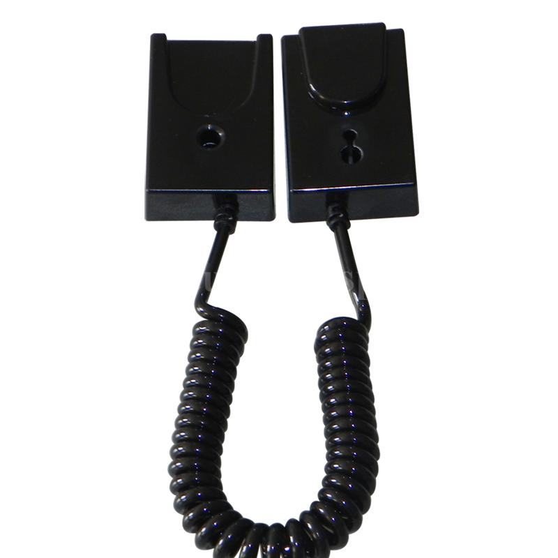 手機展示自動伸縮防盜鏈 拉線盒 磁力座模型防盜器 牆挂拉繩 12