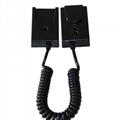 手机展示自动伸缩防盗链 拉线盒 磁力座模型防盗器 墙挂拉绳 12