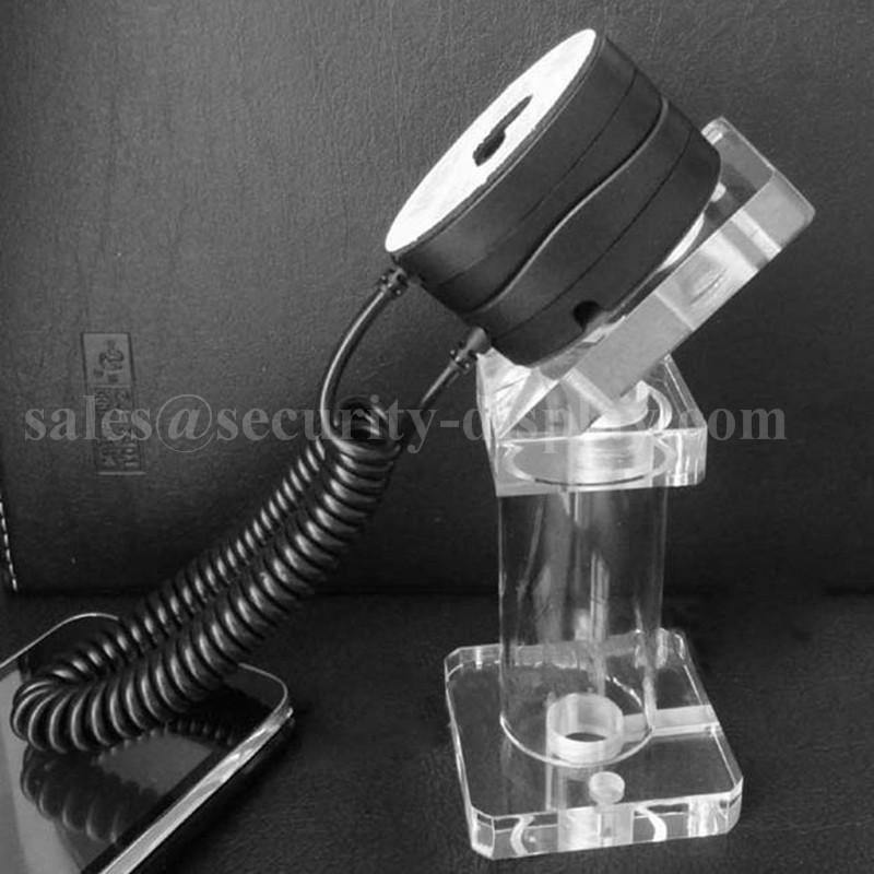 亞克力手機展示支架 透明水晶支架 手機模型展示架 手機防盜支架 2