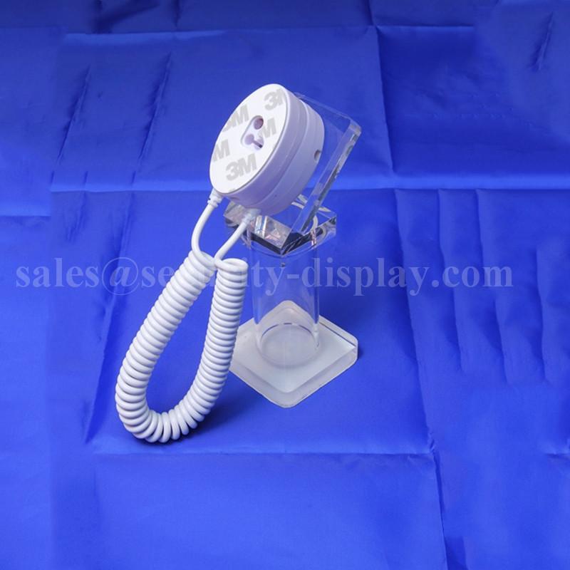 亞克力手機展示支架 透明水晶支架 手機模型展示架 手機防盜支架 8