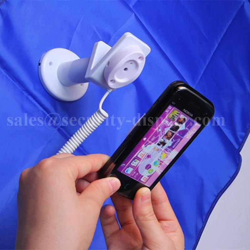 亞克力手機展示支架 透明水晶支架 手機模型展示架 手機防盜支架 11
