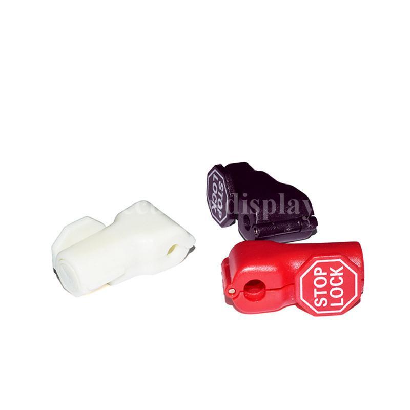 小紅鎖扣 商場貨架挂鉤鎖 配件展示架防盜扣 超市防盜挂鉤鎖 4