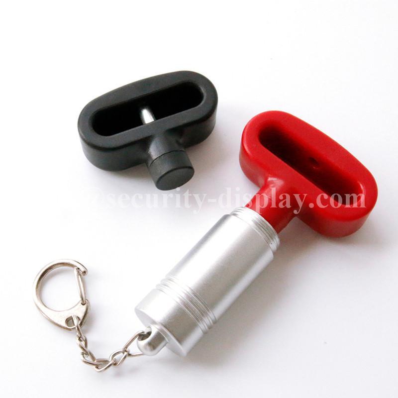 雙孔挂鉤鎖扣 U型雙排金屬挂鉤鎖 強磁力挂鉤鎖 1