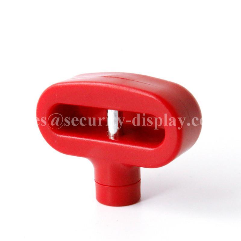 雙孔挂鉤鎖扣 U型雙排金屬挂鉤鎖 強磁力挂鉤鎖 6
