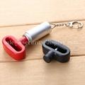 雙孔挂鉤鎖扣 U型雙排金屬挂鉤鎖 強磁力挂鉤鎖 8