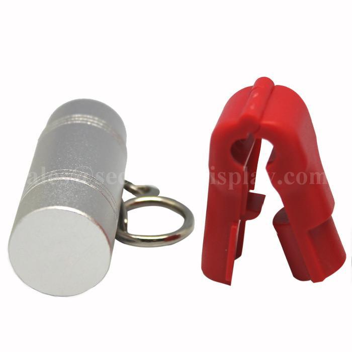 防盗挂钩锁   防盗标签解锁器 超市挂钩货架钥匙锁 解磁器 4