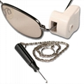 Detacher for eas sunglass tag ,optical