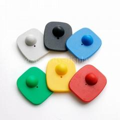 服裝防盜扣 迷你小方防盜磁扣 可定製多色超市防盜扣