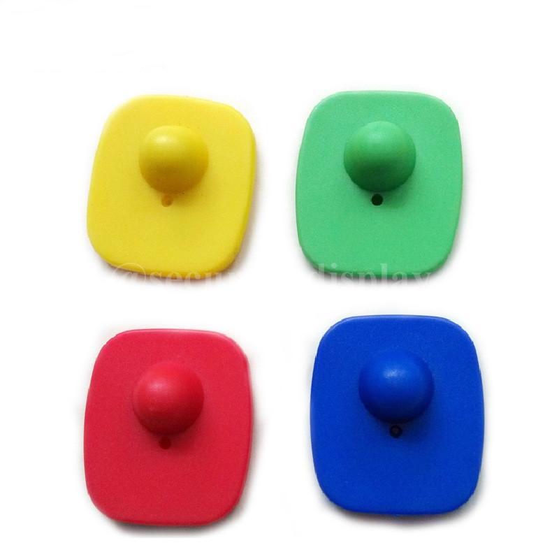 服裝防盜扣 迷你小方防盜磁扣 可定製多色超市防盜扣 7
