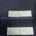 自粘透明PVC挂鉤高粘飛機孔挂鉤PET挂鉤圓孔PP挂鉤包裝彩盒問號鉤 3
