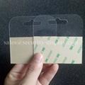 自粘透明PVC挂鉤高粘飛機孔挂鉤PET挂鉤圓孔PP挂鉤包裝彩盒問號鉤 6